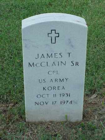 MCCLAIN, SR (VETERAN KOR), JAMES T - Pulaski County, Arkansas | JAMES T MCCLAIN, SR (VETERAN KOR) - Arkansas Gravestone Photos