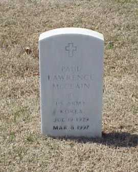 MCCLAIN (VETERAN KOR), PAUL LAWRENCE - Pulaski County, Arkansas | PAUL LAWRENCE MCCLAIN (VETERAN KOR) - Arkansas Gravestone Photos