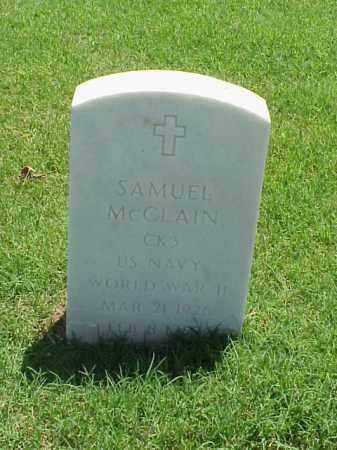 MCCLAIN (VETERAN WWII), SAMUEL - Pulaski County, Arkansas   SAMUEL MCCLAIN (VETERAN WWII) - Arkansas Gravestone Photos