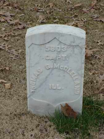 MCCLELLAND (VETERAN UNION), THOMAS G - Pulaski County, Arkansas | THOMAS G MCCLELLAND (VETERAN UNION) - Arkansas Gravestone Photos