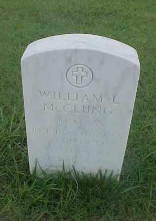MCCLUNG (VETERAN WWI), WILLIAM L - Pulaski County, Arkansas | WILLIAM L MCCLUNG (VETERAN WWI) - Arkansas Gravestone Photos
