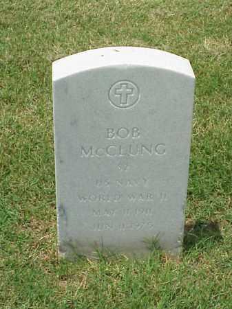 MCCLUNG (VETERAN WWII), BOB - Pulaski County, Arkansas   BOB MCCLUNG (VETERAN WWII) - Arkansas Gravestone Photos