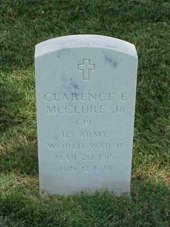 MCCLURE, JR (VETERAN WWII), CLARENCE E - Pulaski County, Arkansas | CLARENCE E MCCLURE, JR (VETERAN WWII) - Arkansas Gravestone Photos