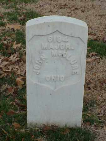 MCCLURE (VETERAN UNION), JOHN - Pulaski County, Arkansas | JOHN MCCLURE (VETERAN UNION) - Arkansas Gravestone Photos