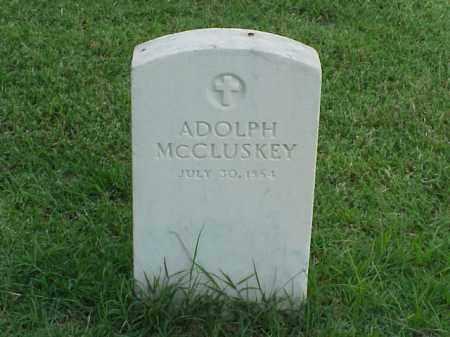 MCCLUSKEY (VETERAN UNION), ADOLPH - Pulaski County, Arkansas | ADOLPH MCCLUSKEY (VETERAN UNION) - Arkansas Gravestone Photos