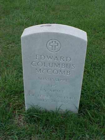 MCCOMB (VETERAN VIET), EDWARD COLUMBUS - Pulaski County, Arkansas   EDWARD COLUMBUS MCCOMB (VETERAN VIET) - Arkansas Gravestone Photos