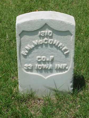 MCCONNEL (VETERAN UNION), F M - Pulaski County, Arkansas | F M MCCONNEL (VETERAN UNION) - Arkansas Gravestone Photos