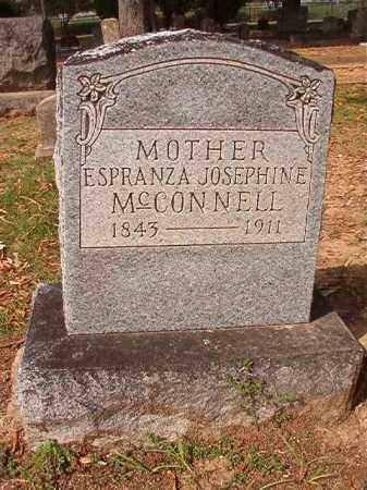 MCCONNELL, ESPRANZA JOSEPHINE - Pulaski County, Arkansas | ESPRANZA JOSEPHINE MCCONNELL - Arkansas Gravestone Photos