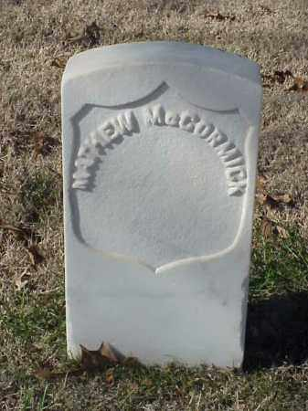 MCCORMICK (VETERAN UNION), MATHEW - Pulaski County, Arkansas | MATHEW MCCORMICK (VETERAN UNION) - Arkansas Gravestone Photos
