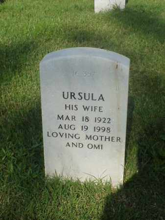 MCCOY, URSULA - Pulaski County, Arkansas | URSULA MCCOY - Arkansas Gravestone Photos