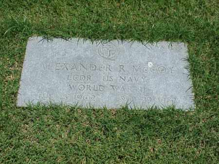 MCCOY (VETERAN WWII), ALEXANDER R - Pulaski County, Arkansas   ALEXANDER R MCCOY (VETERAN WWII) - Arkansas Gravestone Photos