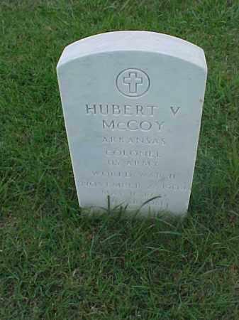 MCCOY (VETERAN WWII), HUBERT V - Pulaski County, Arkansas | HUBERT V MCCOY (VETERAN WWII) - Arkansas Gravestone Photos