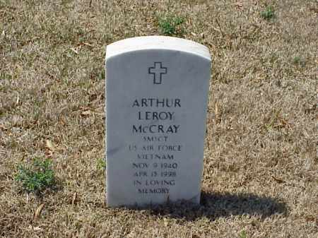 MCCRAY (VETERAN VIET), ARTHUR LEROY - Pulaski County, Arkansas | ARTHUR LEROY MCCRAY (VETERAN VIET) - Arkansas Gravestone Photos