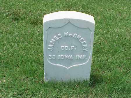 MCCREERY (VETERAN UNION), JAMES - Pulaski County, Arkansas | JAMES MCCREERY (VETERAN UNION) - Arkansas Gravestone Photos