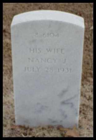 MCCUEN, NANCY J - Pulaski County, Arkansas | NANCY J MCCUEN - Arkansas Gravestone Photos