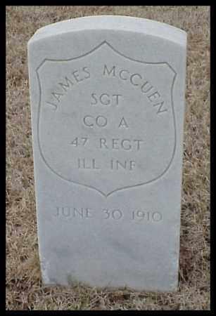 MCCUEN (VETERAN UNION), JAMES - Pulaski County, Arkansas | JAMES MCCUEN (VETERAN UNION) - Arkansas Gravestone Photos