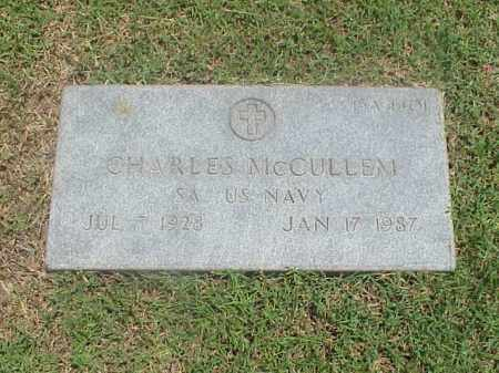 MCCULLEM (VETERAN), CHARLES - Pulaski County, Arkansas   CHARLES MCCULLEM (VETERAN) - Arkansas Gravestone Photos