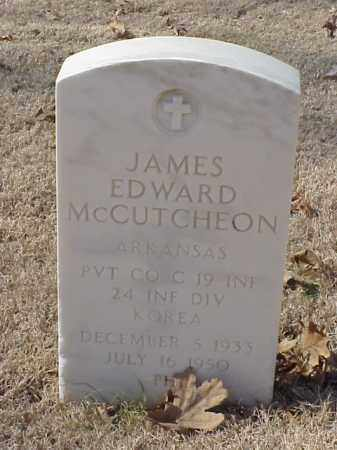 MCCUTCHEON (VETERAN KOR), JAMES EDWARD - Pulaski County, Arkansas | JAMES EDWARD MCCUTCHEON (VETERAN KOR) - Arkansas Gravestone Photos