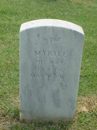MCDANIEL, MYRTLE - Pulaski County, Arkansas   MYRTLE MCDANIEL - Arkansas Gravestone Photos