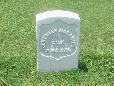 MCDANIEL (VETERAN UNION), JEREMIAH - Pulaski County, Arkansas | JEREMIAH MCDANIEL (VETERAN UNION) - Arkansas Gravestone Photos