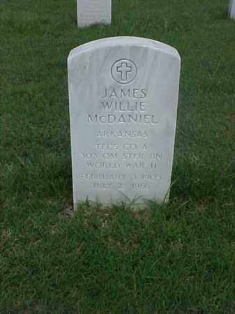 MCDANIEL (VETERAN WWII), JAMES WILLIE - Pulaski County, Arkansas   JAMES WILLIE MCDANIEL (VETERAN WWII) - Arkansas Gravestone Photos