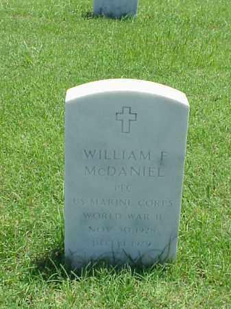 MCDANIEL (VETERAN WWII), WILLIAM F - Pulaski County, Arkansas | WILLIAM F MCDANIEL (VETERAN WWII) - Arkansas Gravestone Photos