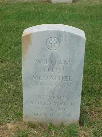 MCDANIEL (VETERAN WWII), WILLIAM OTIS - Pulaski County, Arkansas | WILLIAM OTIS MCDANIEL (VETERAN WWII) - Arkansas Gravestone Photos
