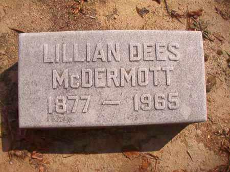 MCDERMOTT, LILLIAN - Pulaski County, Arkansas | LILLIAN MCDERMOTT - Arkansas Gravestone Photos