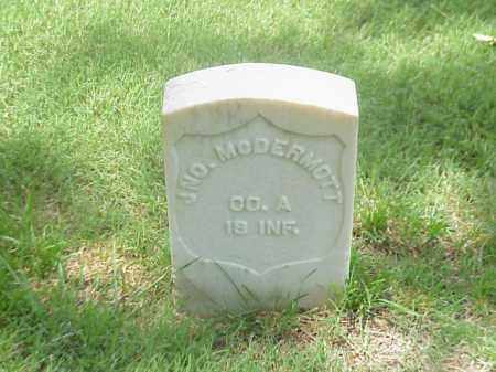 MCDERMOTT (VETERAN UNION), JOHN - Pulaski County, Arkansas | JOHN MCDERMOTT (VETERAN UNION) - Arkansas Gravestone Photos