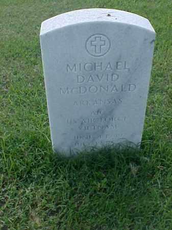 MCDONALD (VETERAN VIET), MICHAEL DAVID - Pulaski County, Arkansas | MICHAEL DAVID MCDONALD (VETERAN VIET) - Arkansas Gravestone Photos