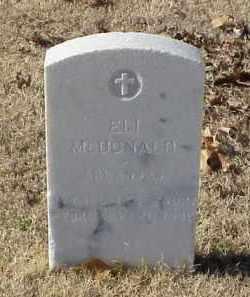 MCDONALD (VETERAN WWI), ELI - Pulaski County, Arkansas   ELI MCDONALD (VETERAN WWI) - Arkansas Gravestone Photos