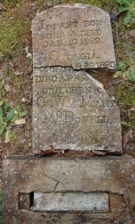 MCDOWELL, INFANT SON - Pulaski County, Arkansas | INFANT SON MCDOWELL - Arkansas Gravestone Photos