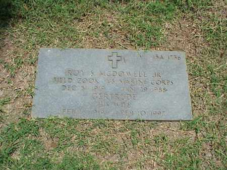MCDOWELL, JR (VETERAN WWII), ROY S - Pulaski County, Arkansas | ROY S MCDOWELL, JR (VETERAN WWII) - Arkansas Gravestone Photos