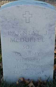MCDUFFEE (VETERAN VIET), EARNEST J - Pulaski County, Arkansas | EARNEST J MCDUFFEE (VETERAN VIET) - Arkansas Gravestone Photos