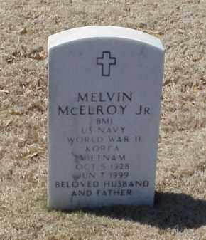 MCELROY, JR (VETERAN 3 WARS), MELVIN - Pulaski County, Arkansas | MELVIN MCELROY, JR (VETERAN 3 WARS) - Arkansas Gravestone Photos