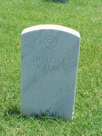 MCELYEA (VETERAN WWII), DEMPSEY - Pulaski County, Arkansas | DEMPSEY MCELYEA (VETERAN WWII) - Arkansas Gravestone Photos