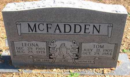 MCFADDEN, TOM - Pulaski County, Arkansas | TOM MCFADDEN - Arkansas Gravestone Photos