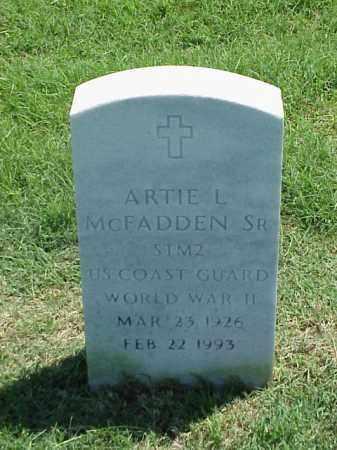 MCFADDEN SR (VETERAN WWII), ARTIE L - Pulaski County, Arkansas | ARTIE L MCFADDEN SR (VETERAN WWII) - Arkansas Gravestone Photos