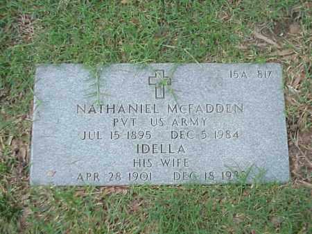 MCFADDEN (VETERAN WWI), NATHANIEL - Pulaski County, Arkansas | NATHANIEL MCFADDEN (VETERAN WWI) - Arkansas Gravestone Photos