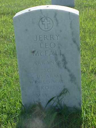 MCFALL (VETERAN 2 WARS), JERRY LEO - Pulaski County, Arkansas | JERRY LEO MCFALL (VETERAN 2 WARS) - Arkansas Gravestone Photos