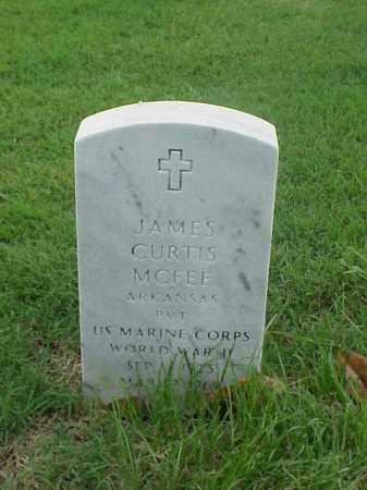 MCFEE (VETERAN WWII), JAMES CURTIS - Pulaski County, Arkansas | JAMES CURTIS MCFEE (VETERAN WWII) - Arkansas Gravestone Photos