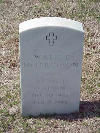 MCFERGUSON (VETERAN VIET), WILLIE E - Pulaski County, Arkansas | WILLIE E MCFERGUSON (VETERAN VIET) - Arkansas Gravestone Photos