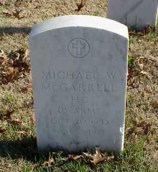 MCGARRELL (VETERAN), MICHAEL W - Pulaski County, Arkansas   MICHAEL W MCGARRELL (VETERAN) - Arkansas Gravestone Photos
