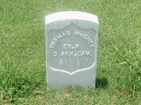 MCGHEE (VETERAN UNION), THOMAS - Pulaski County, Arkansas | THOMAS MCGHEE (VETERAN UNION) - Arkansas Gravestone Photos