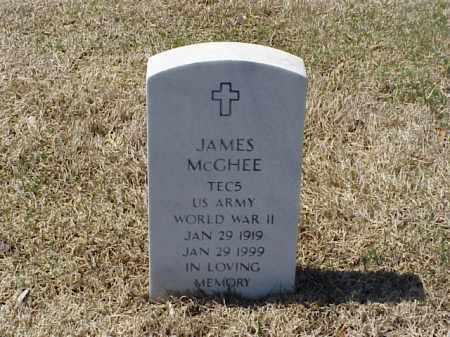 MCGHEE (VETERAN WWII), JAMES - Pulaski County, Arkansas | JAMES MCGHEE (VETERAN WWII) - Arkansas Gravestone Photos