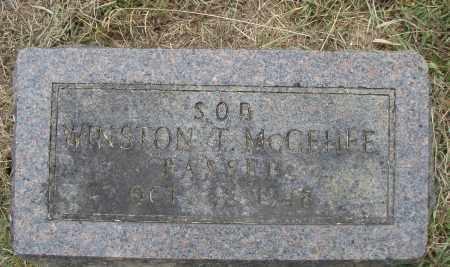 MCGEHEE, WINSTON T. - Pulaski County, Arkansas | WINSTON T. MCGEHEE - Arkansas Gravestone Photos