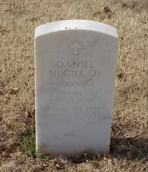 MCGILL, JR (VETERAN WWII), DANIEL - Pulaski County, Arkansas   DANIEL MCGILL, JR (VETERAN WWII) - Arkansas Gravestone Photos