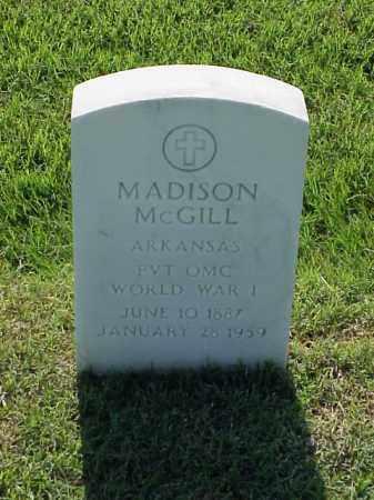 MCGILL (VETERAN WWI), MADISON - Pulaski County, Arkansas | MADISON MCGILL (VETERAN WWI) - Arkansas Gravestone Photos