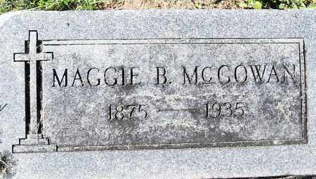 MCGOWAN, MAGGIE B - Pulaski County, Arkansas | MAGGIE B MCGOWAN - Arkansas Gravestone Photos