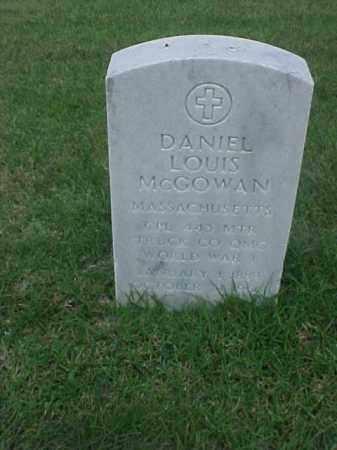 MCGOWAN (VETERAN WWI), DANIEL LOUIS - Pulaski County, Arkansas | DANIEL LOUIS MCGOWAN (VETERAN WWI) - Arkansas Gravestone Photos